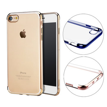 Baseus Soft TPU Electroplating Arc Edge Case For iPhone 7/8