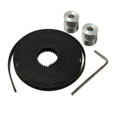 GT2 Pulley 16 Teeth 5mm Bore 2M Timing Belt For 3D Printer Parts RepRap Prusa