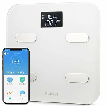 YUNMAI Color Smart Body Fat Weight Management Scale bluetooth APP Fat Composition Monitor Sync with Google Fit