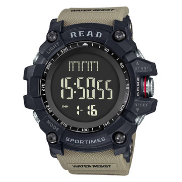 READ R90002 Multifunction Luminous Stopwatch Digital Watch