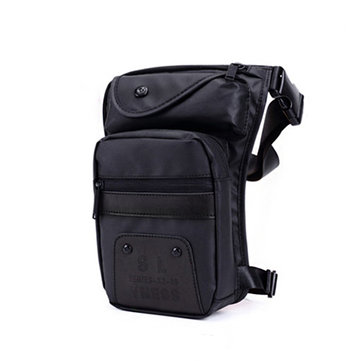 Men Waterproof Oxford Fanny Waist Chest Bag Tote Travel Drop Leg Tactical Pouch