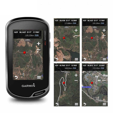 Garmin Oregon750 Handheld GPS Navigation Professional Outdoor Touch Screen Locator GPS and GLONASS Satellite Barometer 3 Axis Electronic Compass Mass Storage Route Track Return ANT+ VIRB Control