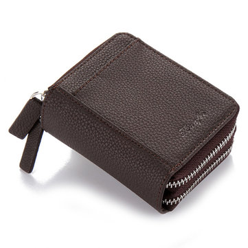 RFID Blocking Zip Around Wallet Card Holder