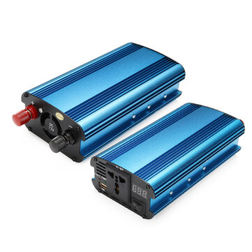 1200W PEAK DC 12V/24V to AC 220V Power Inverter Charger LED Modified Sine Wave Converter