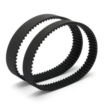 HTD5M-350 Zamanlama Kemer Sürüş Kauçuk Arka Dişler 15 / 20mm Genişlik 1/5 '' 3D Printer İçin Basamak