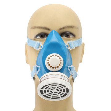 A-3 Self Priming Filter Type Antivirus Protect Mask Prevent Harmful Gas Face Safely Security Protector