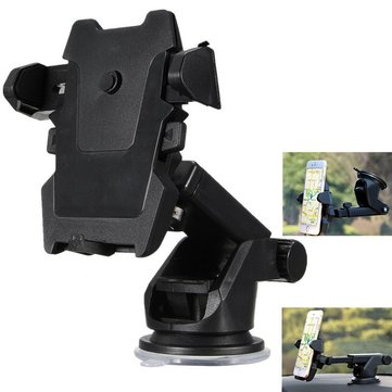 Universal Powerful Suction 360 Degree Rotation Car Phone Holder Dashboard Windshield Stand