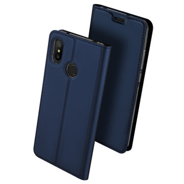 Dux Ducis Flip Shockproof Full Cover PU Leather Protective Case For Xiaomi Redmi 6 Pro/ Mi A2 Lite