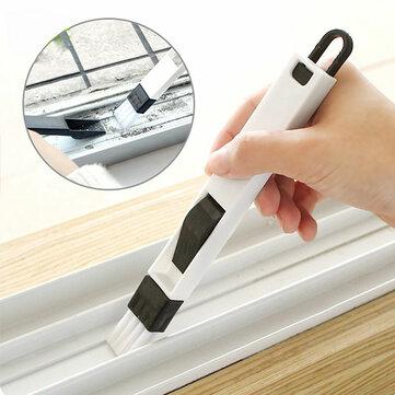 Honana HN-Q1 Window Recess Groove Clean Brush Dustpan Keyboard Drawer Crevice Wash...