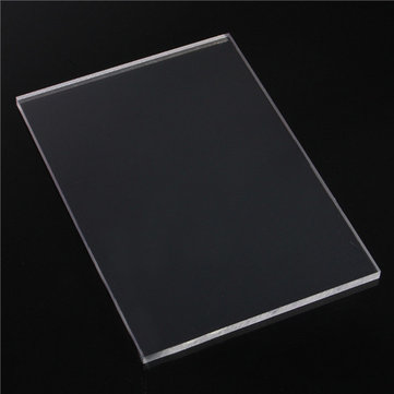 297x210mm A4 Clear Acrylic Sheet 5/10mm Cutting Panel Plastic Board