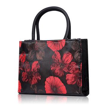 Китайский стиль цветочный узор сумки Trible мешки двойной молнии коробка для завтрака