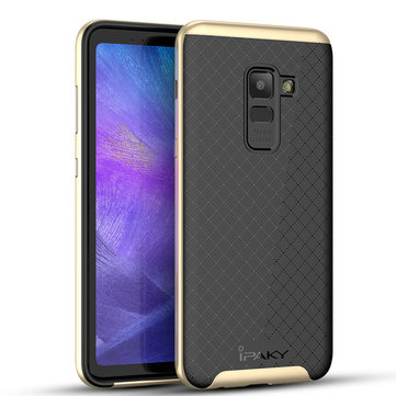 iPaky Slim Anti Fingerprint PC & TPU Protective Case For Samsung Galaxy A8 Plus 2018