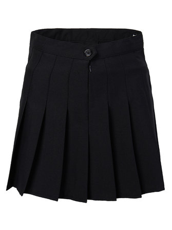 Women Slim High Waist Pleated Tennis Skirts Playful Mini Dress