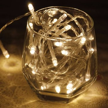 Christmas Batteries LED Light String Curtain Light Home Decor Celebration Festival Wedding Landscape