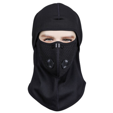 Outdoor Full Face Fleece Mask Neck Warmer Ski Motorcycle Balaclava Winter Windproof