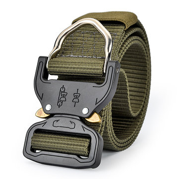 125CM Mens Nylon Military Heavy Duty Combat Belt