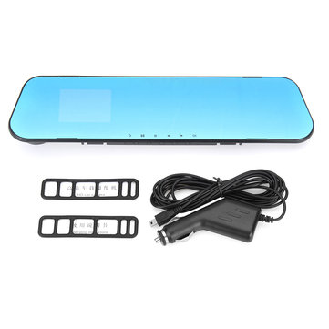 2.8 Inch Lens HD 1080P Car Rear View Mirror Driving Recorder Video Camera