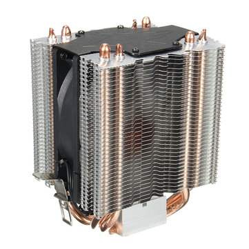 3 Pin 4 Heat Pipes CPU Cooler Heatsink Cooling Fan for LGA1156 LGA1155 LGA1150 LGA1151 LGA775