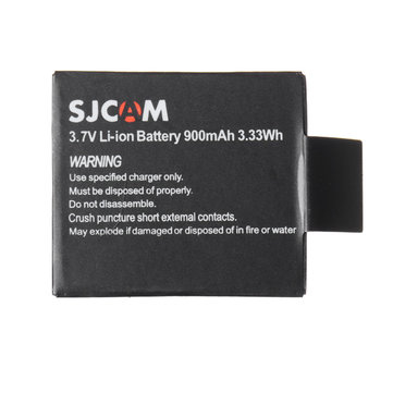 Original 3.7V 900mAh Li-ion Battery for SJCAM SJ6 LEGEND Sport Action Camera