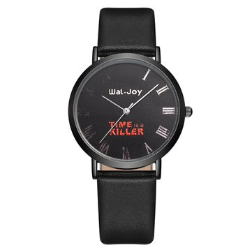 Simple Fashion Roman Number Student Watch Unisex Quartz Wrist Watch