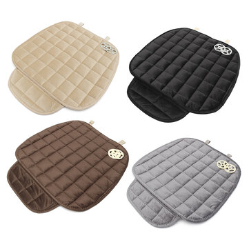 Universal Square Wistiti Sponge Front Row Car Seat Cover Small Mat Auto Chair Cushion