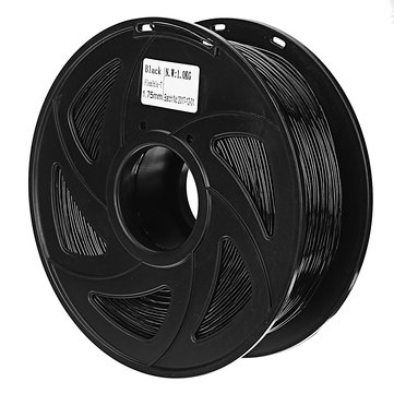 Creality 3D® 1.75mm 1KG/roll Black Color TPU Flexible Filament For 3D Printer/3D Pen/Reprap/Makerbot