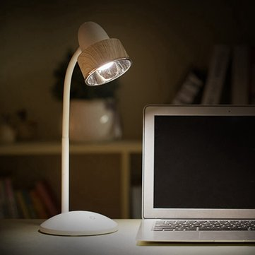 Flexible Touch Dimmable Rechargeable LED Table Light Eye Protection Reading Lamp for Study Bedside
