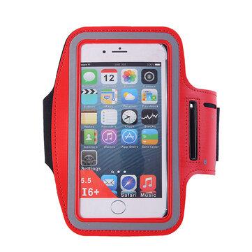 6inches сотовый телефон универсальный Водонепроницаемы Спорт Running Armband сотовый телефон владельца