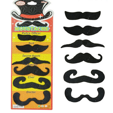 Creative Costume Pirate Party Halloween Cosplay Fake Mustache Toys Funny Fake Beard Whisker