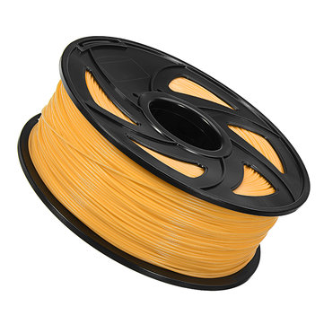 2Pcs Yellow 1Kg 1.75mm ABS Filament for Anet 3D Printer