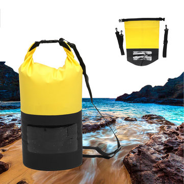 20L Waterproof Bag Rafting Storage Dry Bag Swimming Bag Lightweight Camping Diving Floating Bag