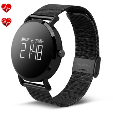 CV08 0.95inch Heart Rate Blood Pressure Monitor Sport Bluetooth Smart Bracelet For iphone Samsung