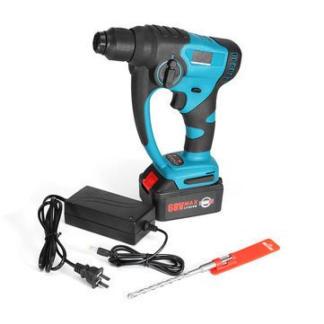 VOTO Powerful 220V 680W Electric Hammer Impact Drill Cordless Rechargeabl Power Drills