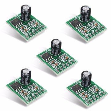 5Pcs XPT8871 5V 5W 1A Single Channel Mono Digital Audio Amplifier Board
