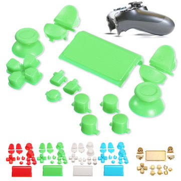 Replacement Full Buttons Custom Mod Kit Set for Sony PS4 Play Station Controller