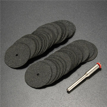 36pcs 3.175mm Shank 24mm Cut Off Wheel Cutting Disc Set for Rotary Tool
