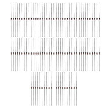 5 x 100pcs 1N4148 Kit de diodes de commutation DIY Electronic Component Set Straight Pin DO-35