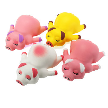 Squishy Pig Piggy 13cm Soft Slow Rising Animals Cartoon Collection Gift Decor Toy