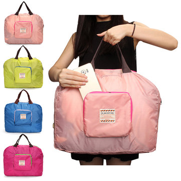 Honana HN-0930 Waterproof Folding Shopping Storage Shoulder Bag Handbag Travel Totes Pouch Bag