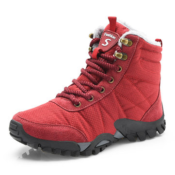 Women Casual Outdoor Shoes Winter Fur Warm Snow Boots