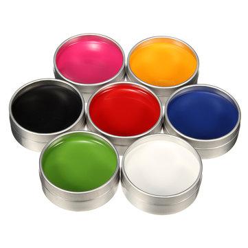7 cores tintas a óleo facial arte corpo desenho cosplay cosméticos pintura do dia das bruxas