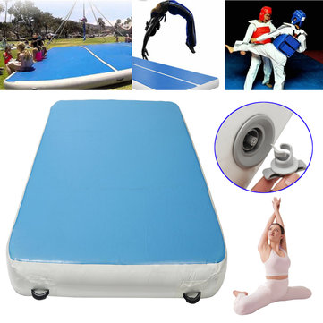 196x78x7.87inch Outdoor Sports Inflatable Air Track Gymnastics Mat Yoga Fitness Training Pad