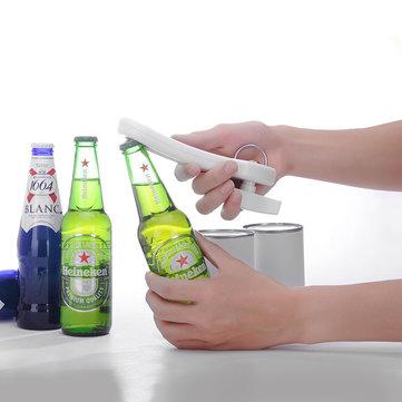 KCASA KC-SP02 Multi-function 2 In 1 Manual Can Jar Beer Bottle Opener Side Cutter Opening Tool