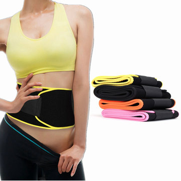 IPRee® Waist Shaper Corset Slimmer Fitness Back Supporter Abdomen Belt Waist Trimmer