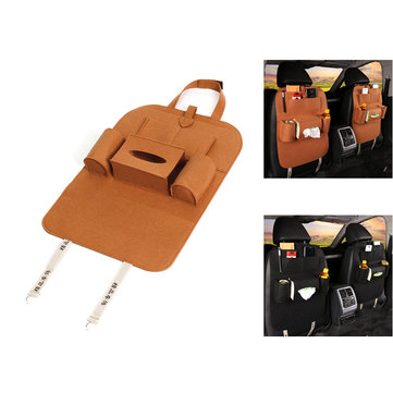 IPRee® Peach Style Auto Car Seat Back Multi Pocket Storage Bag Organizer Holder Accessory 56x40cm