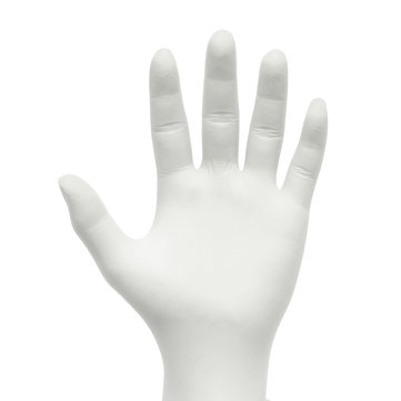 100Pcs Industrial Disposable Nitrile Latex Gloves Medical Grade White Powder Free 3 Sizes