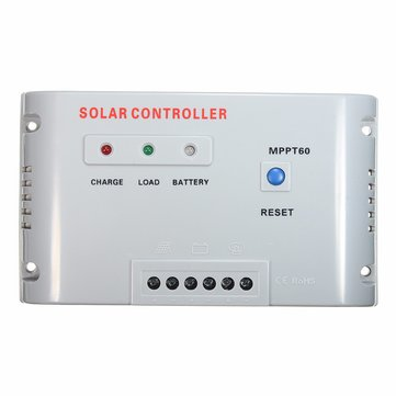 WS-MPPT60 40/50/60A 12V/24V MPPT Solar Panel Regulator Charge Controller with LED Indicator