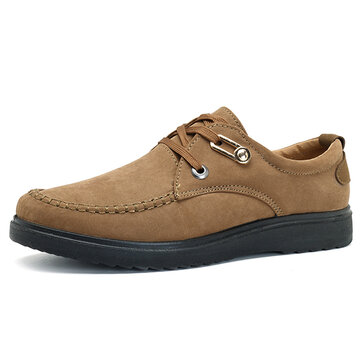 Comfy Lace Up Flat Moc Toe Oxfords