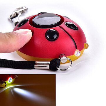 AF-4200 130db Super Loud Emergency Self Defense Personal Security Alarm Mini Everyday Carry Keychain Light for Kids Weman Elders