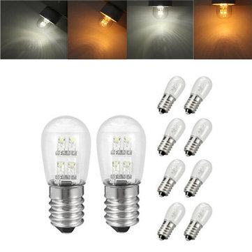 ZX LED E12 E14 LED Pure White Warm White 4 LED Pea Candle Light Lamp Bulb AC110V AC220V